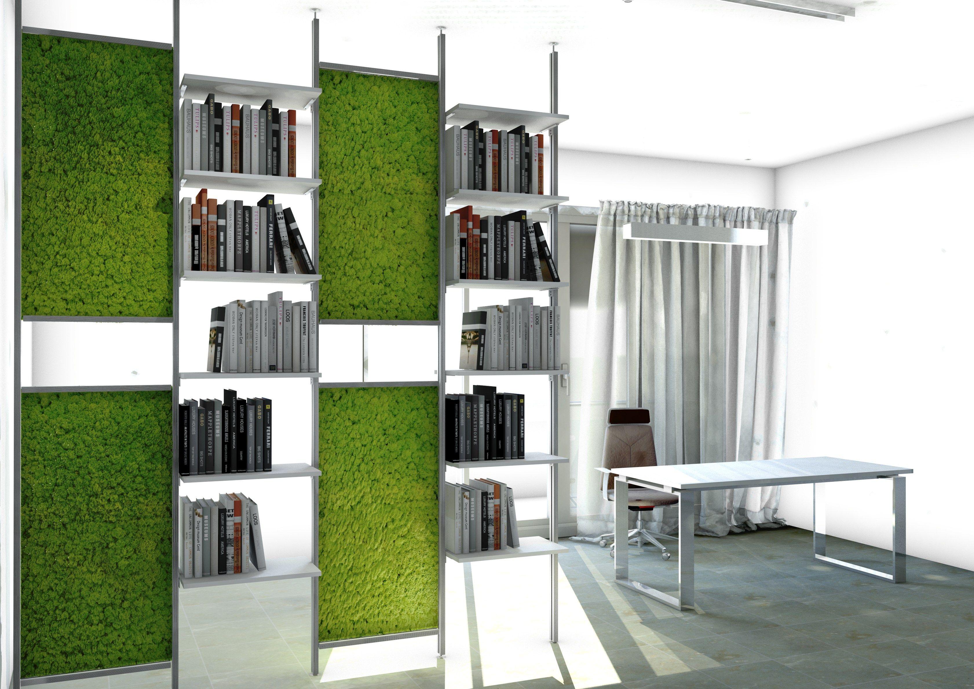 Pannelli decorativi in lichene by studio t for Pannelli decorativi parete