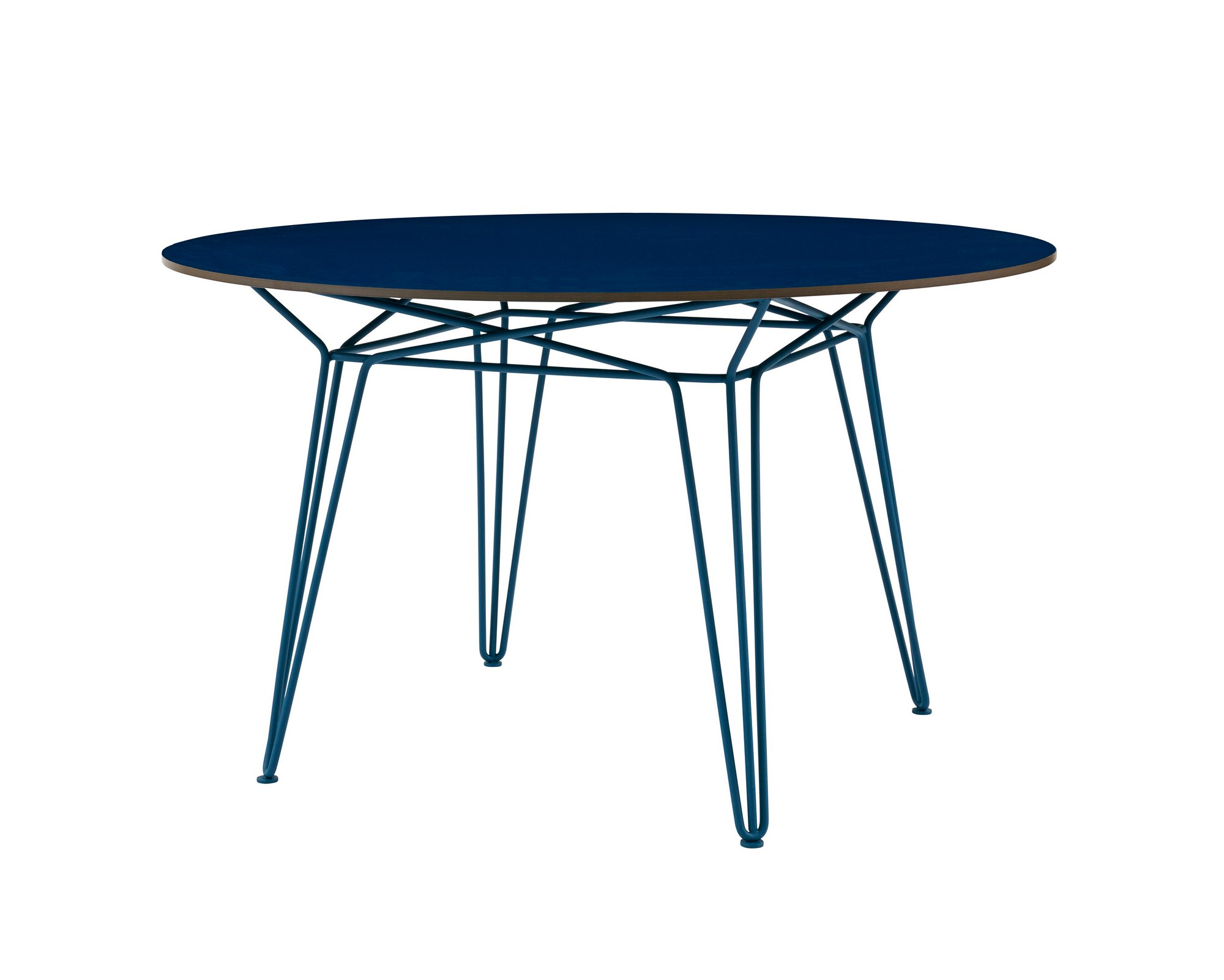 round hpl garden table parisi outdoor collection by sp01