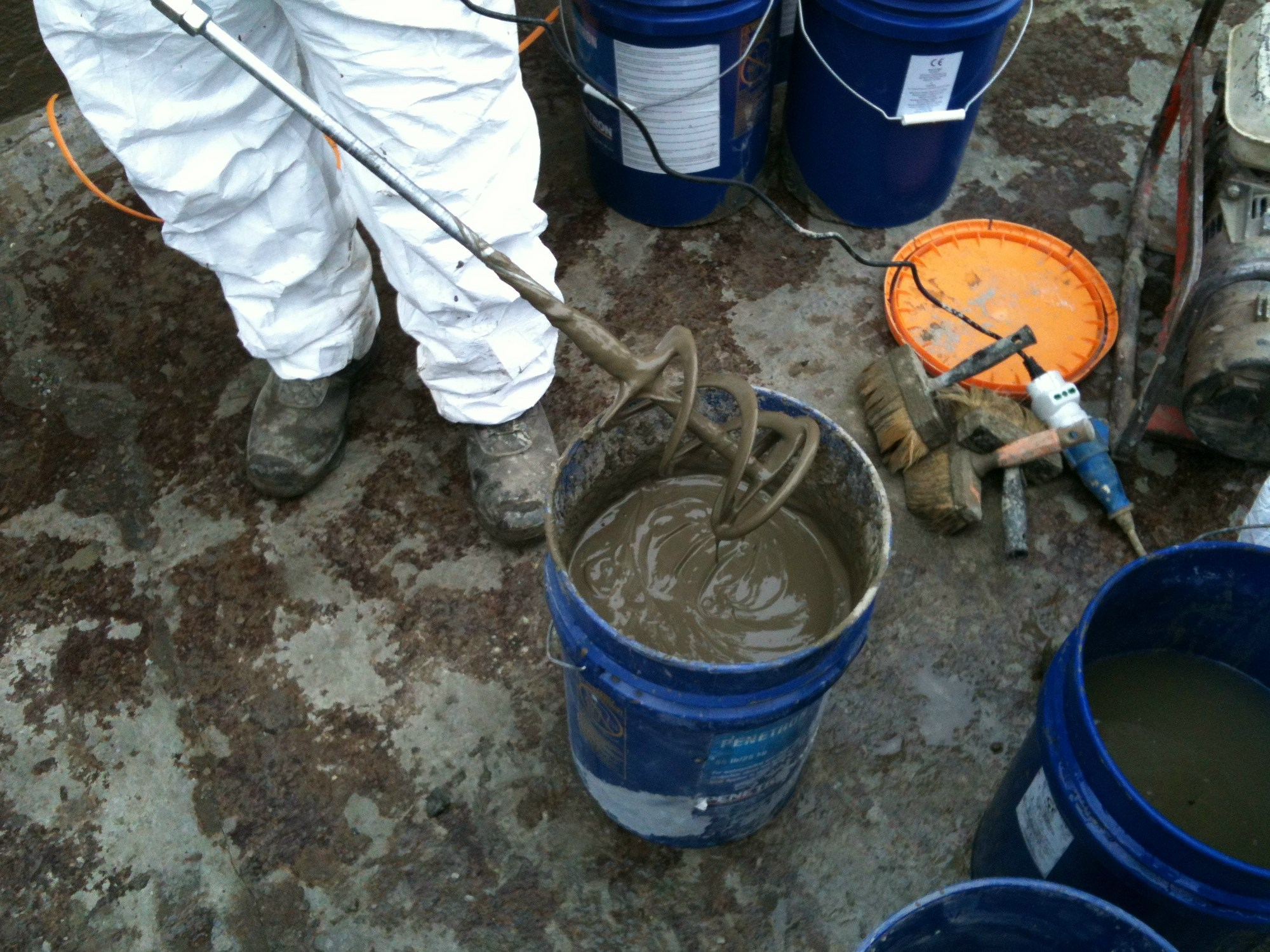 Additive And Resin For Waterproofing Penetron Standard