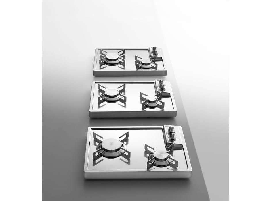 Piani cottura in acciaio idea del concetto di interior for Piani di progettazione domestica