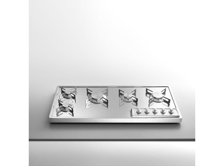 Piani cottura da appoggio piano cottura in acciaio inox by - Piani cottura da esterno ...