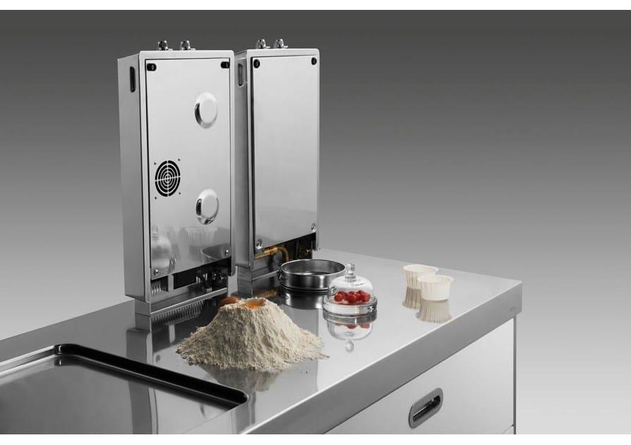 Piani cottura ribaltabili gas induzione by alpes inox - Piano appoggio cucina ...