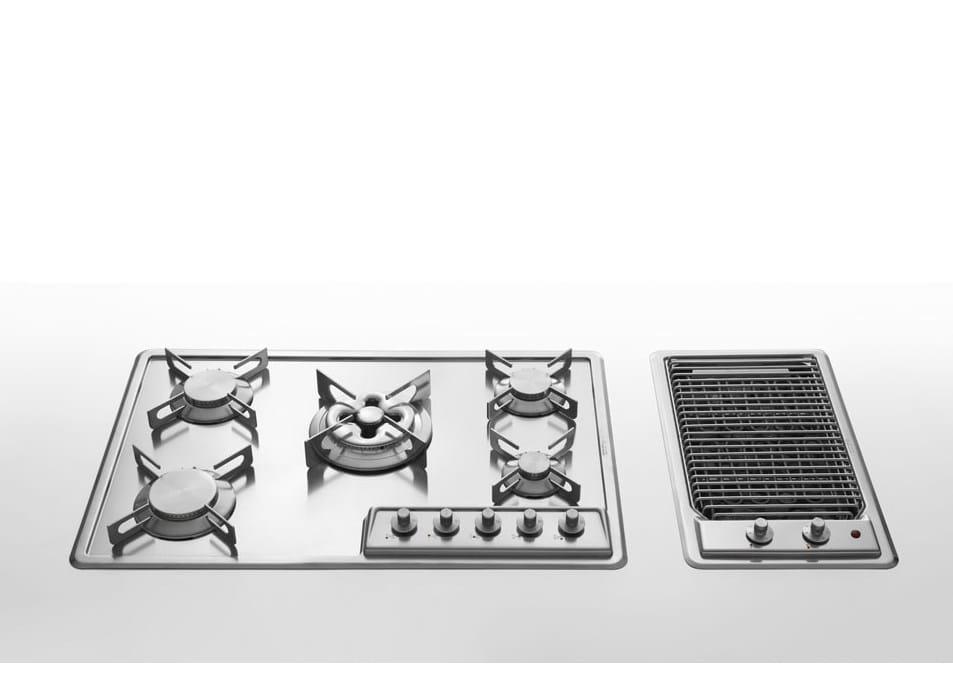 Piani di cottura incasso inox piano cottura in acciaio for 2500 piani quadrati di 2 piani