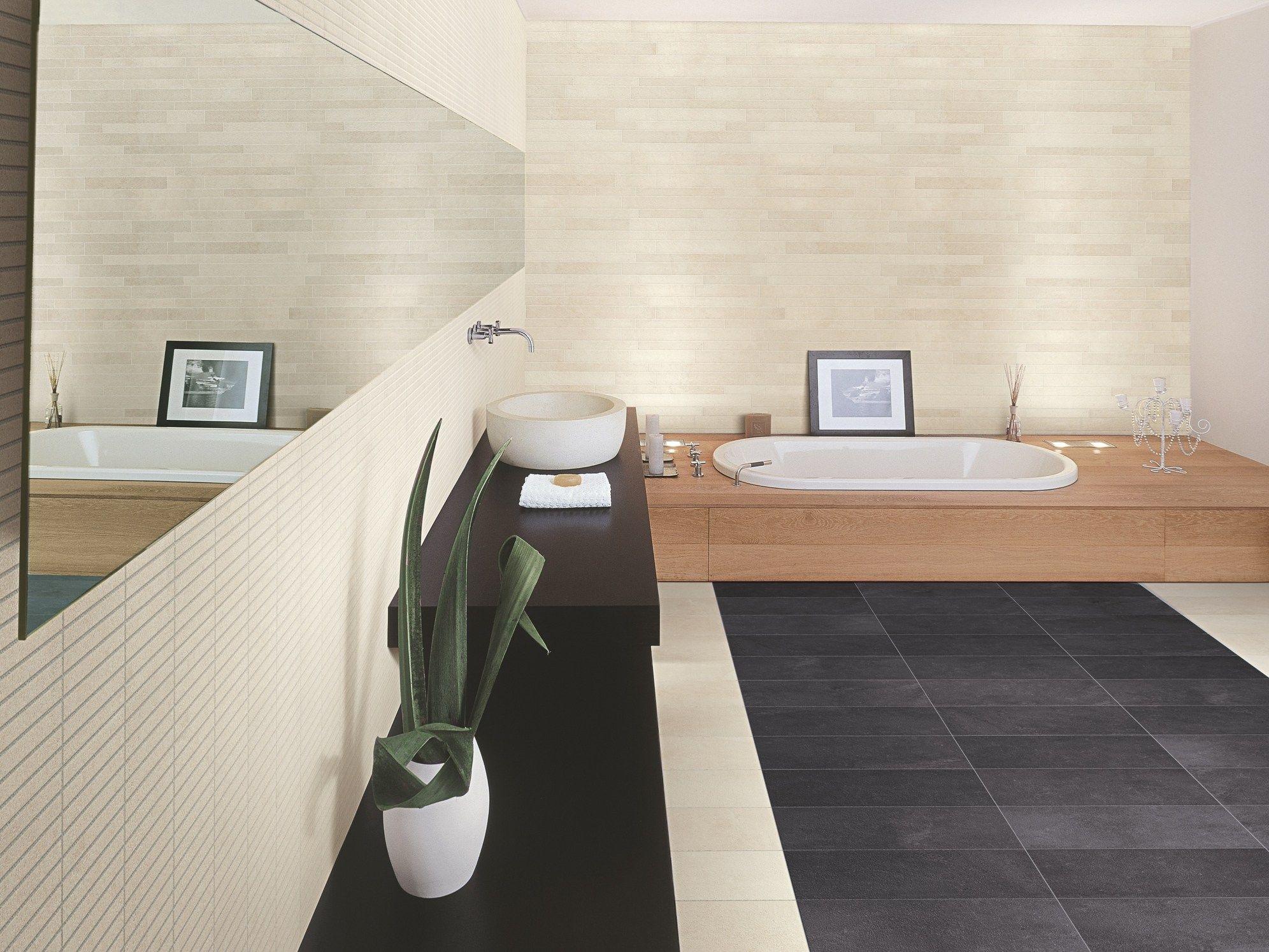 Pavimento rivestimento in gres porcellanato effetto pietra - Casalgrande padana gres porcellanato ...