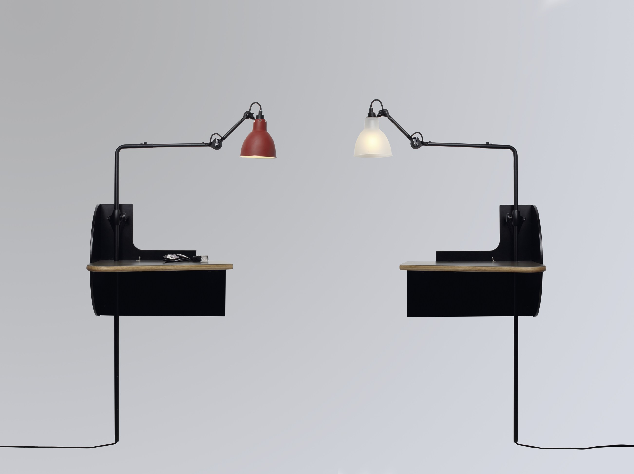 Le mobilier de gras table de nuit collection lampe gras by - Table de nuit suspendue ...
