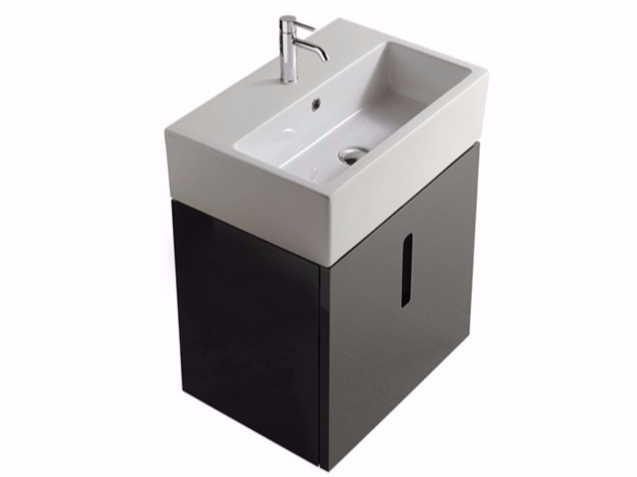 meuble vasque 60 x 40. Black Bedroom Furniture Sets. Home Design Ideas