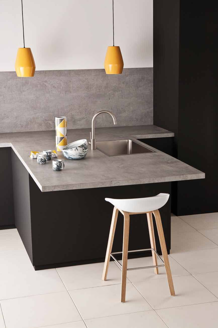 Top cucina rivestimento per mobili in hpl polyform - Rivestimento top cucina ...