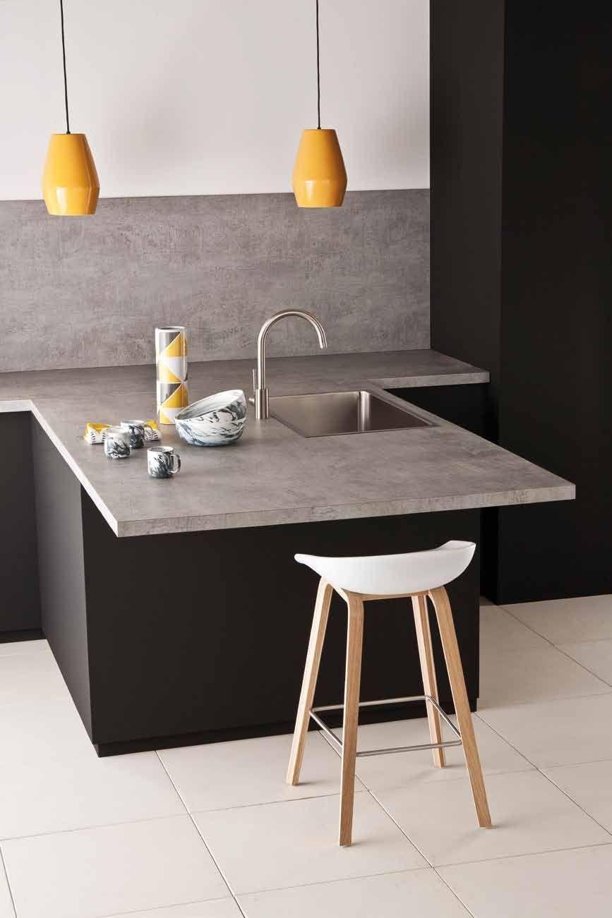 Top cucina / rivestimento per mobili in HPL POLYFORM® EXTRAMAT ...