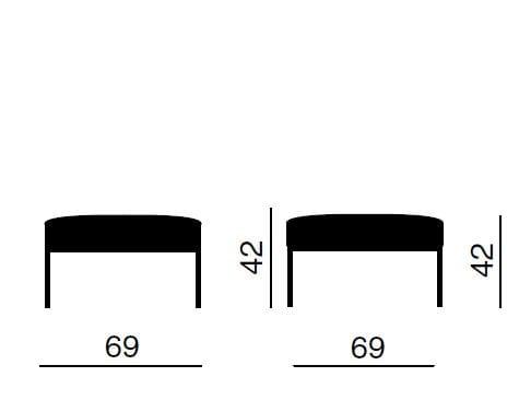 quadrifoglio sistemi d arredo astro pouf collezione astro by quadrifoglio sistemi d