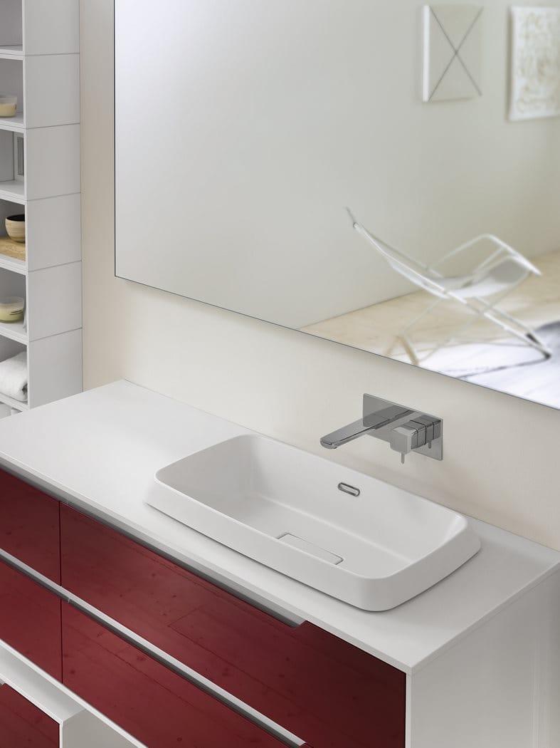 Mueble de ba o mueble bajo lavabo en laminado prestige - Mueble bano bajo lavabo ...