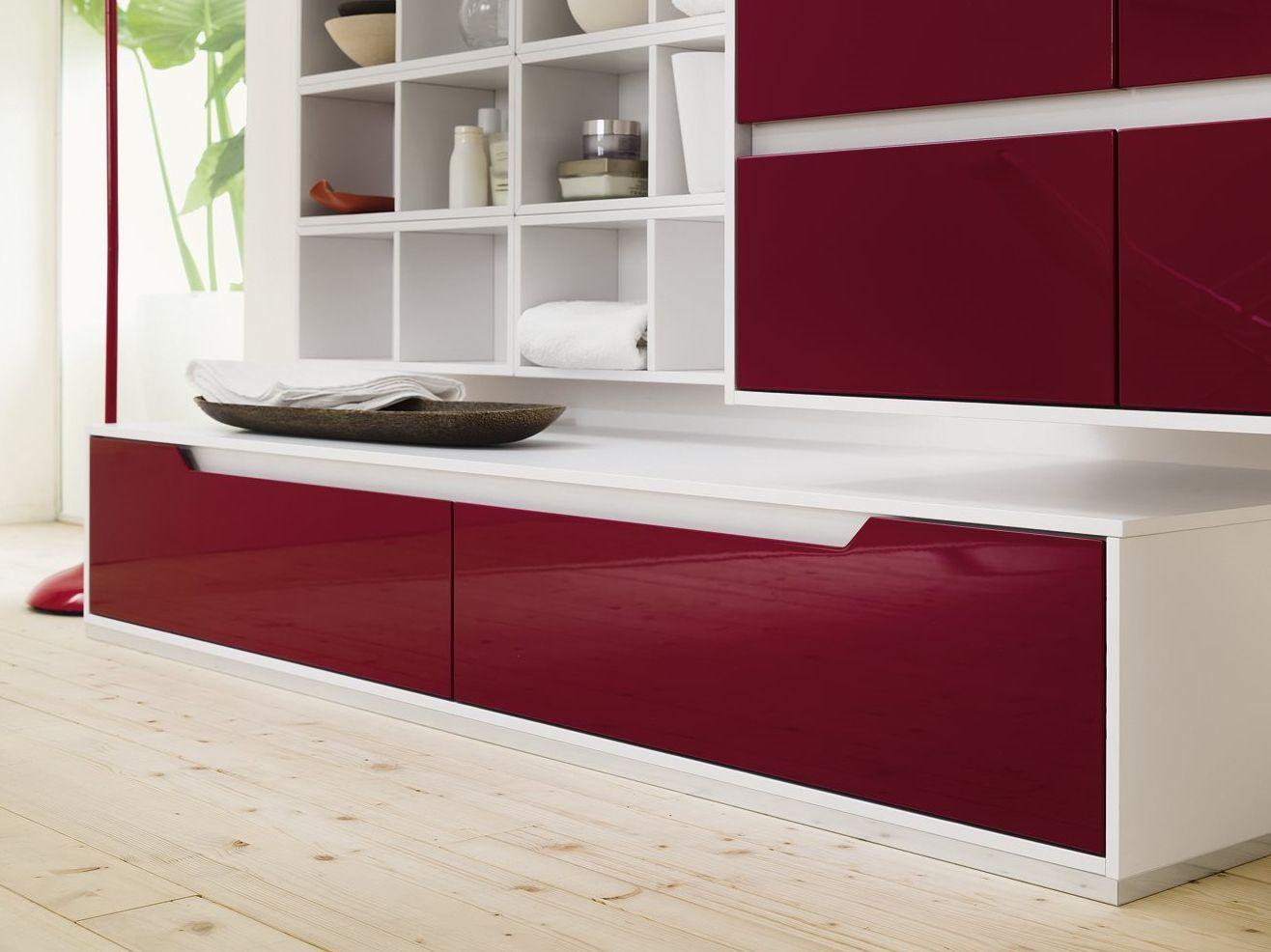 Mueble de ba o mueble bajo lavabo en laminado prestige - Mueble bajo bano ...