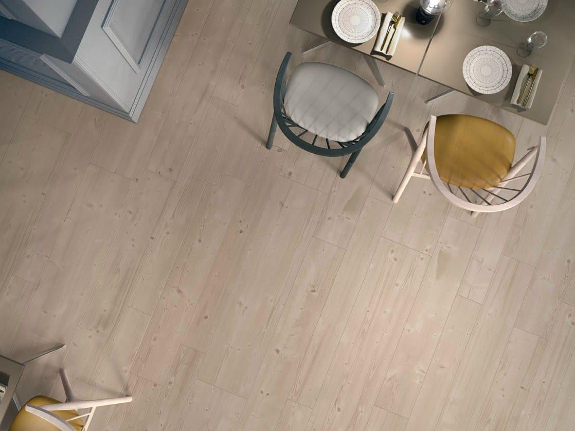 Pavimento ecologico in gres porcellanato effetto legno prime beige ...