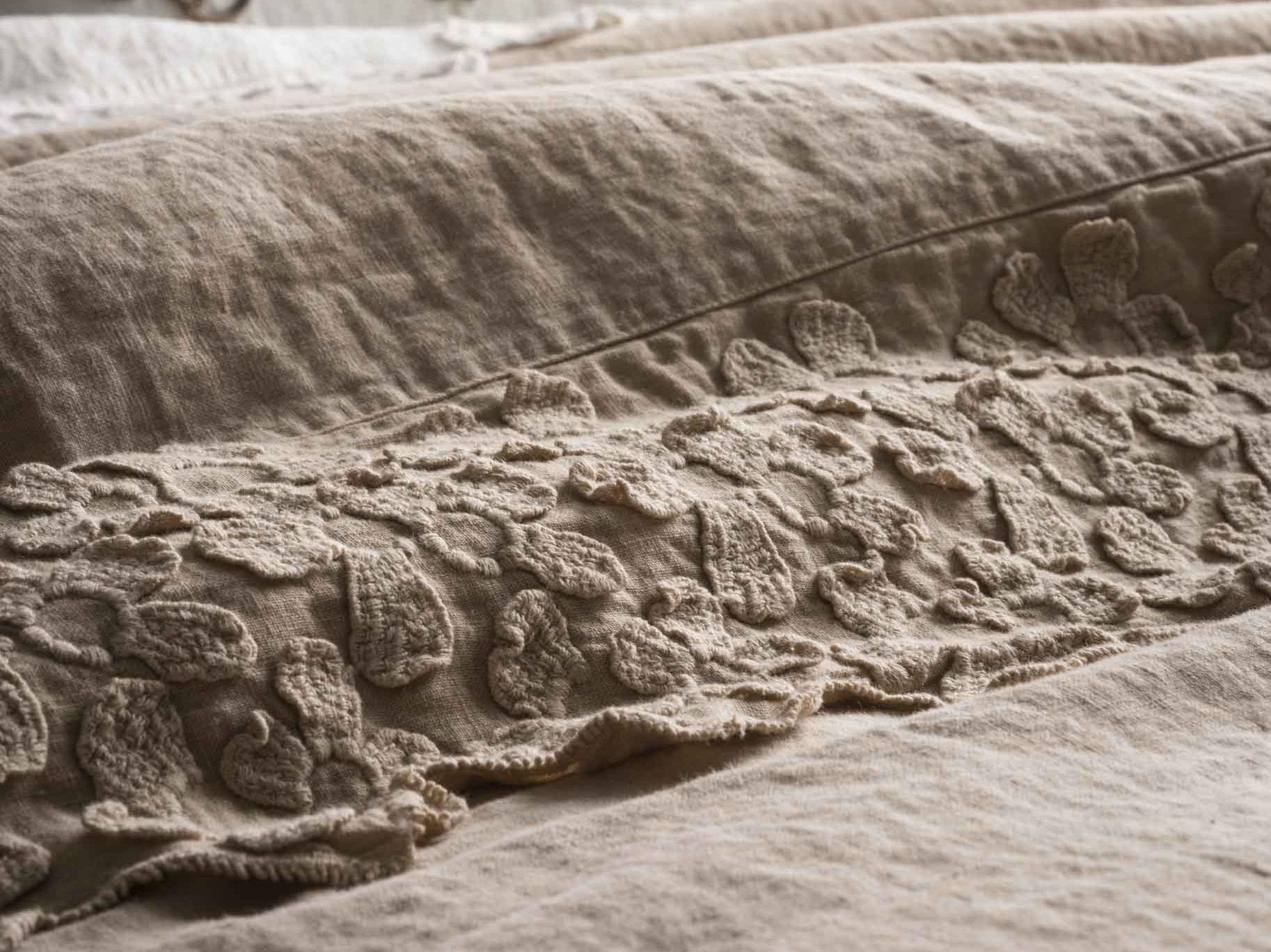 Accappatoio in lino PRIMULA | Accappatoio Collezione Decor By LA ...