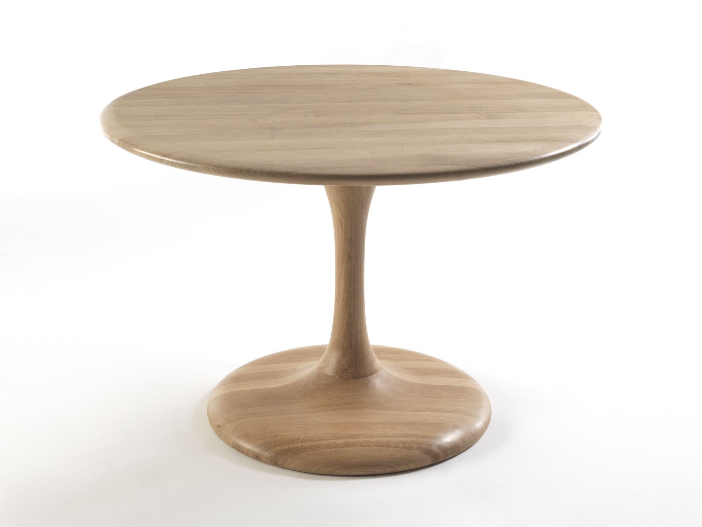 mesa redonda de madera peo by riva 1920 dise o maurizio