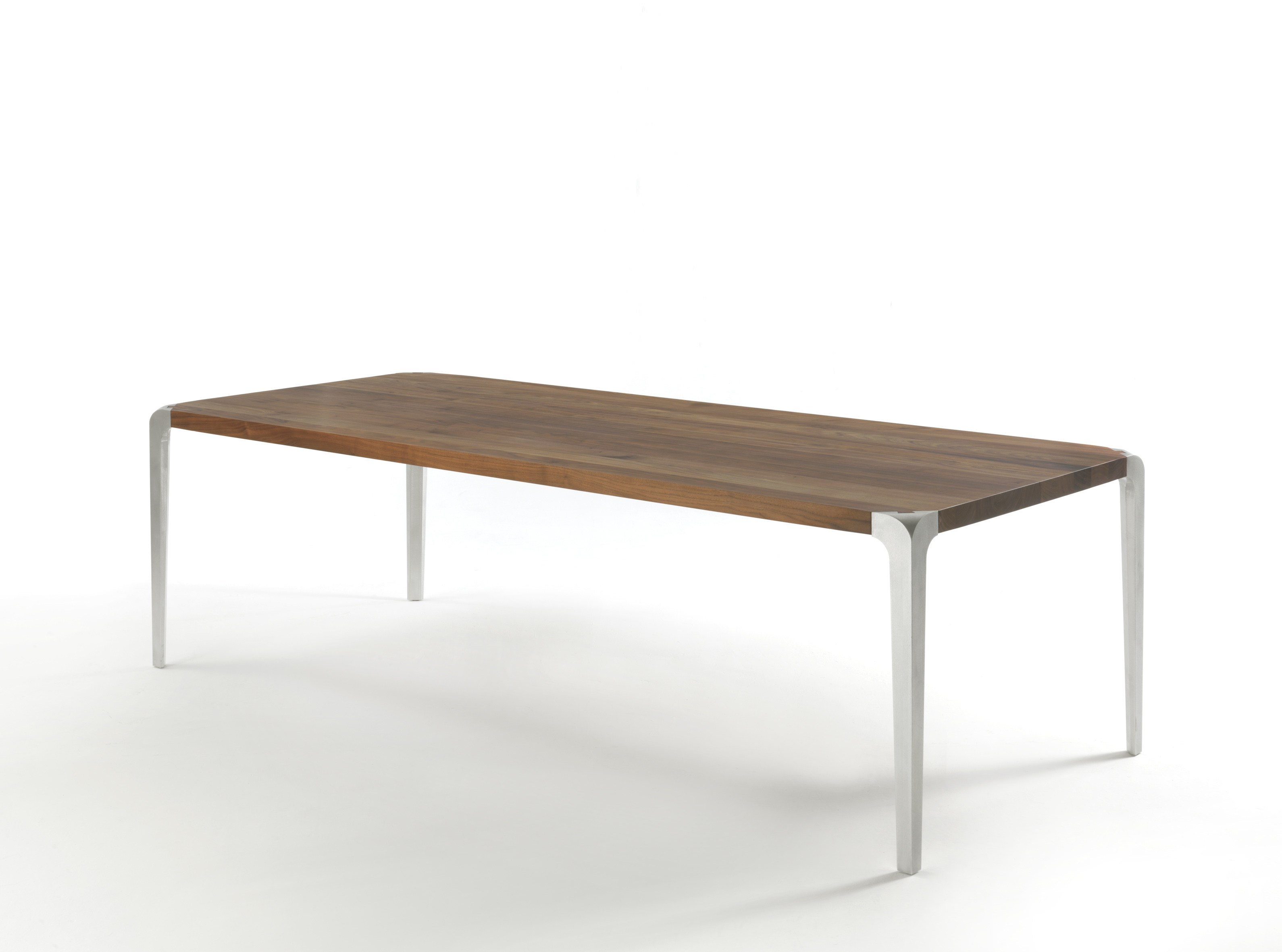 Rectangular dining table sleek 2013 by riva 1920 design for Sleek dining room tables