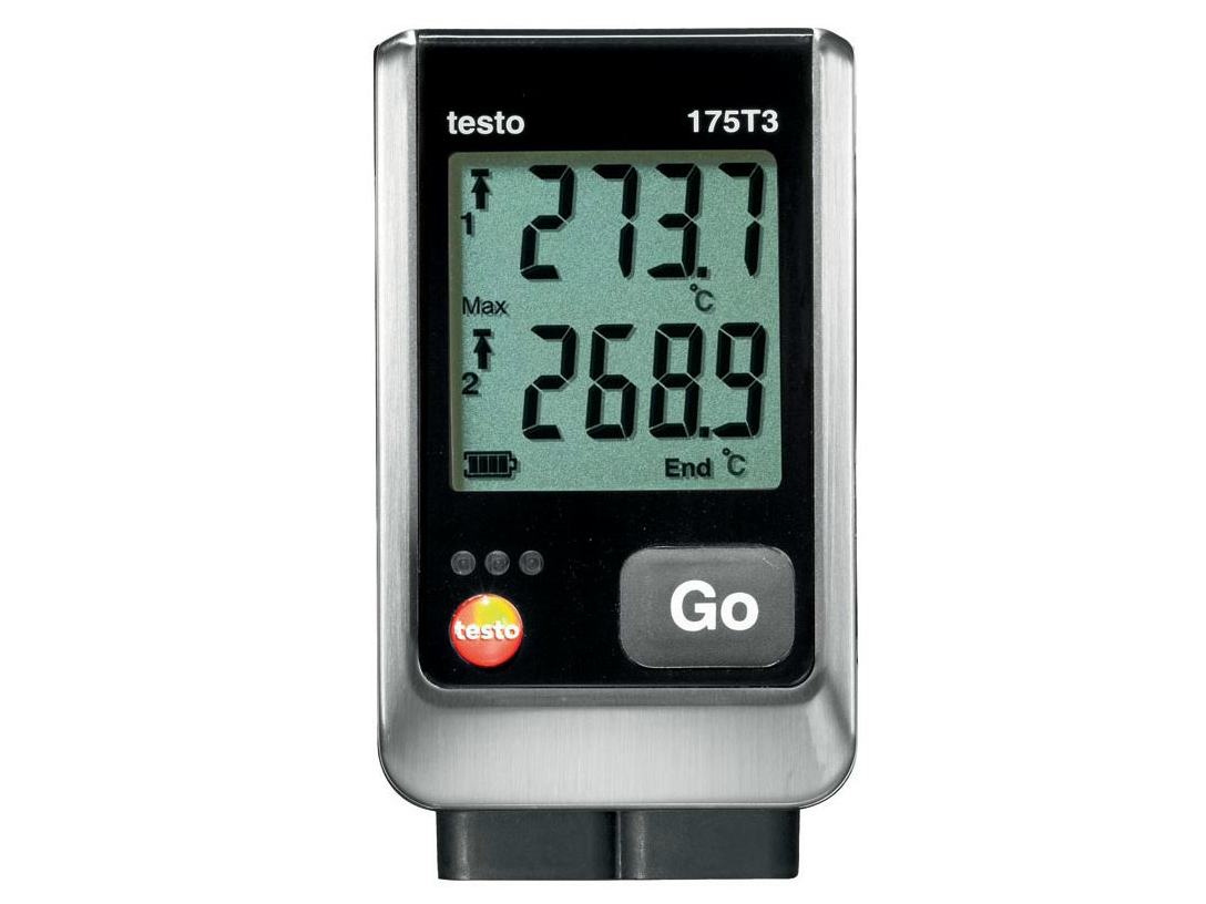 data logger testo 175 t3 by testo. Black Bedroom Furniture Sets. Home Design Ideas