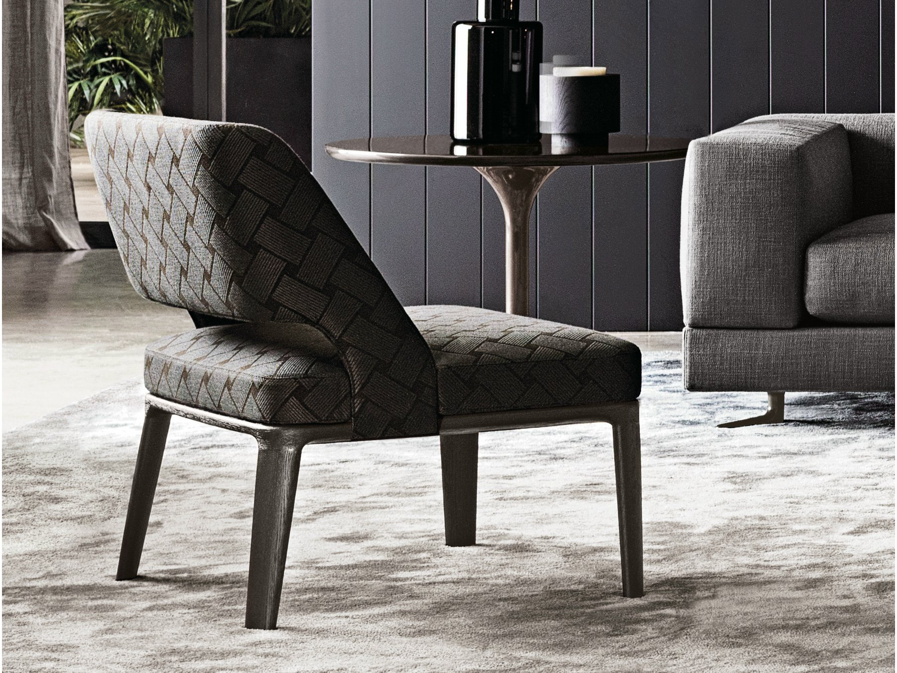 owens armchair by minotti design rodolfo dordoni