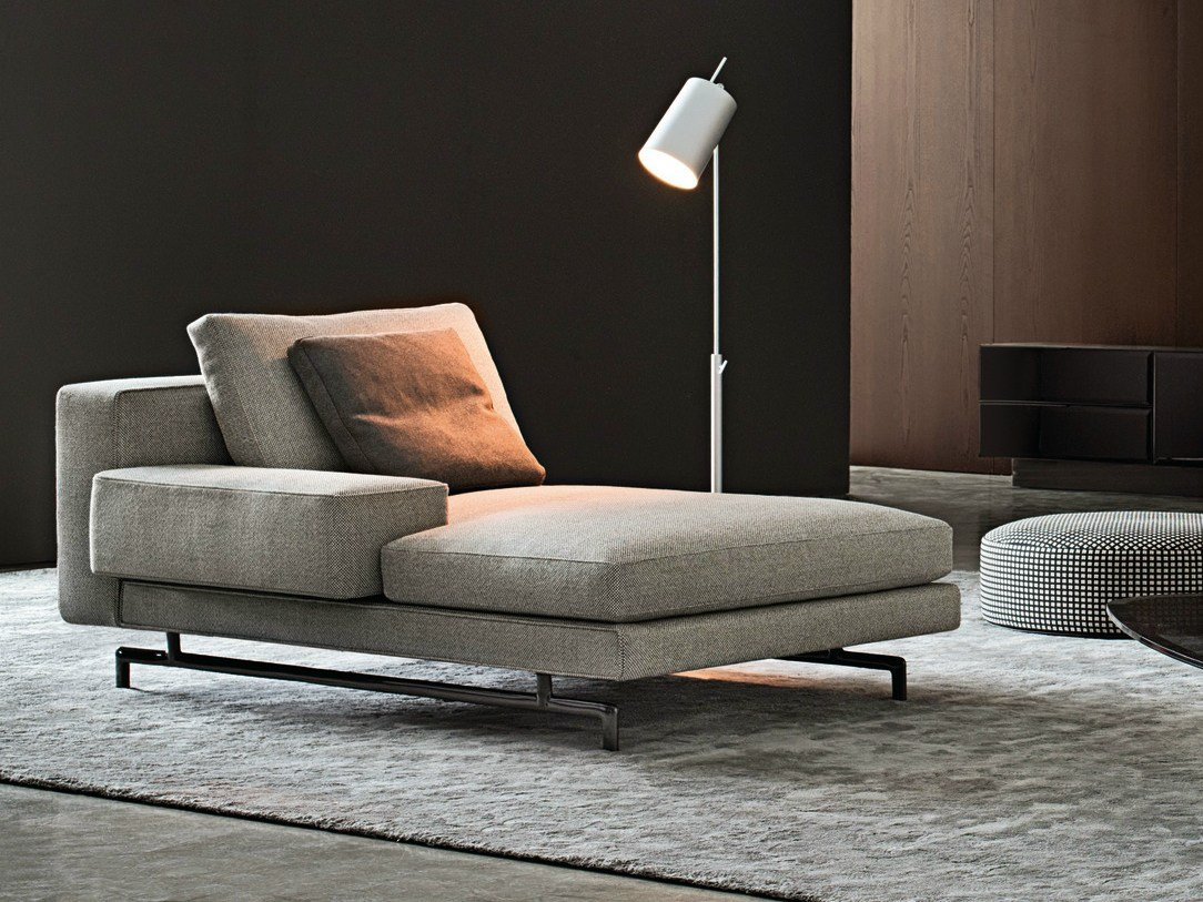 Sherman by minotti for Chaise longue day bed