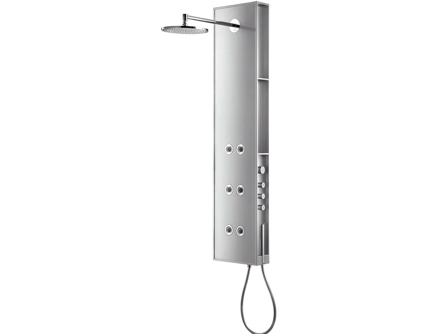 axor starck colonne de douche mural by hansgrohe design. Black Bedroom Furniture Sets. Home Design Ideas