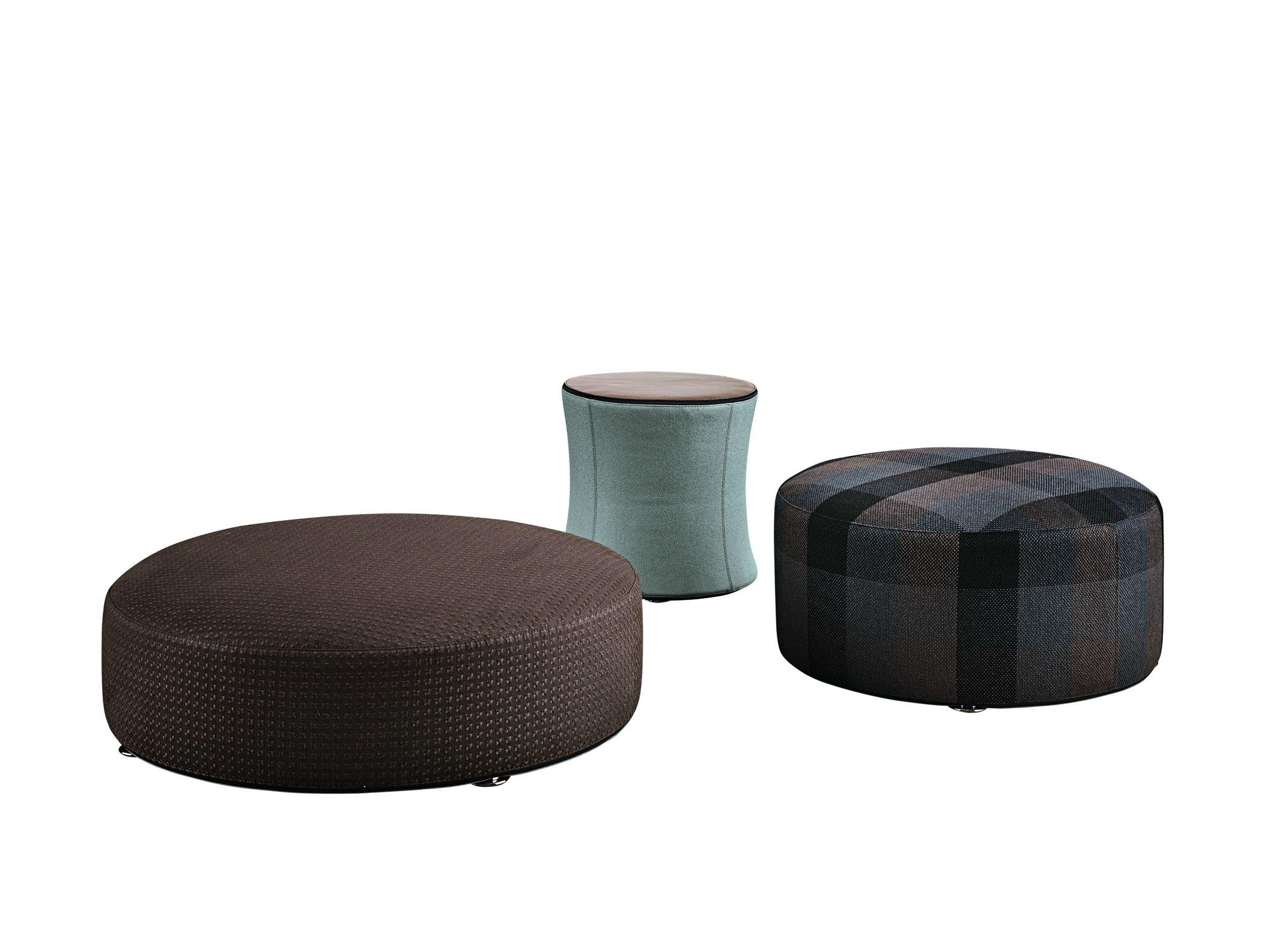 pouf ottoman davis by minotti design rodolfo dordoni. Black Bedroom Furniture Sets. Home Design Ideas