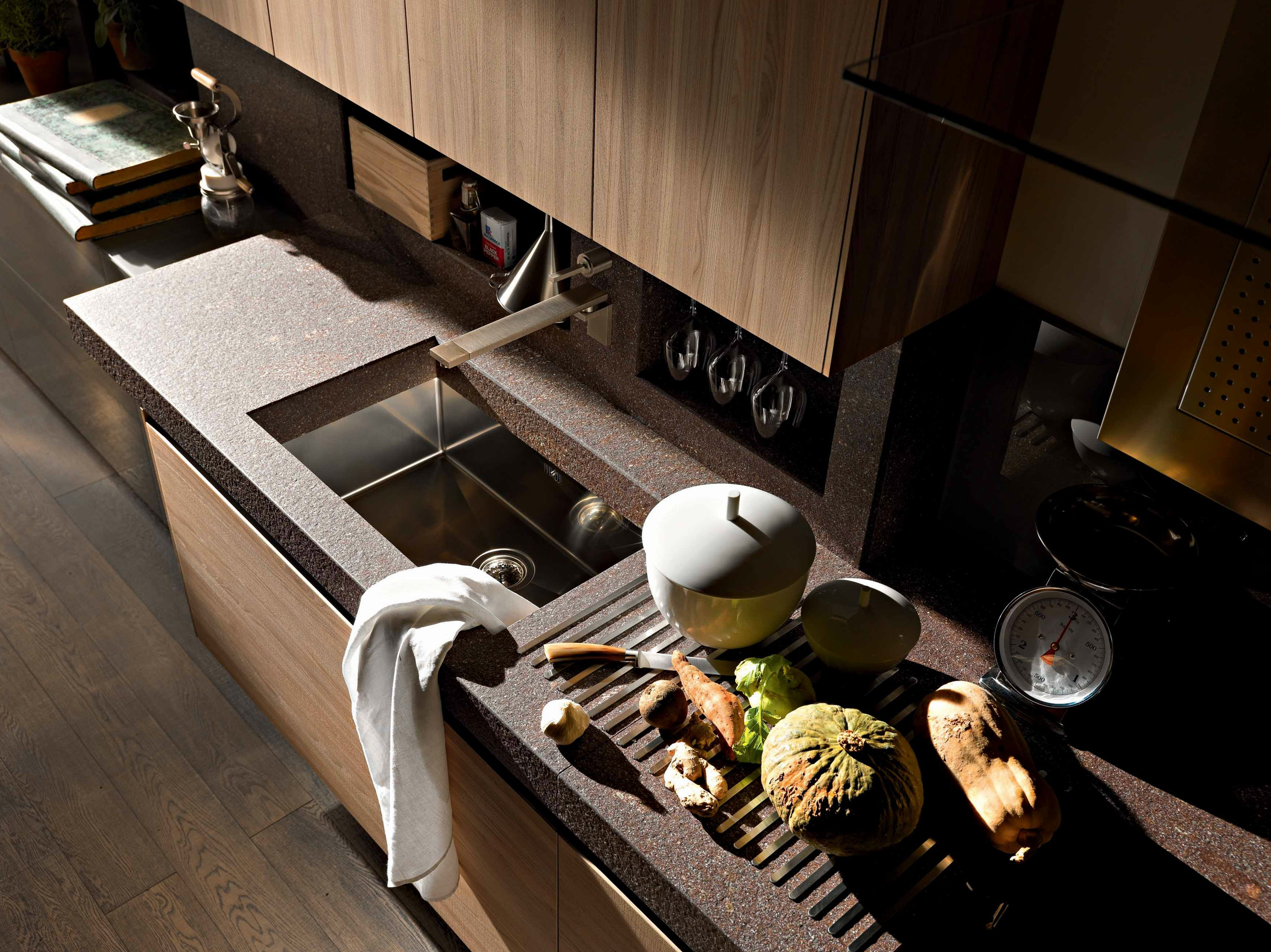 Cucina Mobili Cucina E Complementi Cucine #A0932B 3266 2449 Altezza Mobili Cucina Componibile
