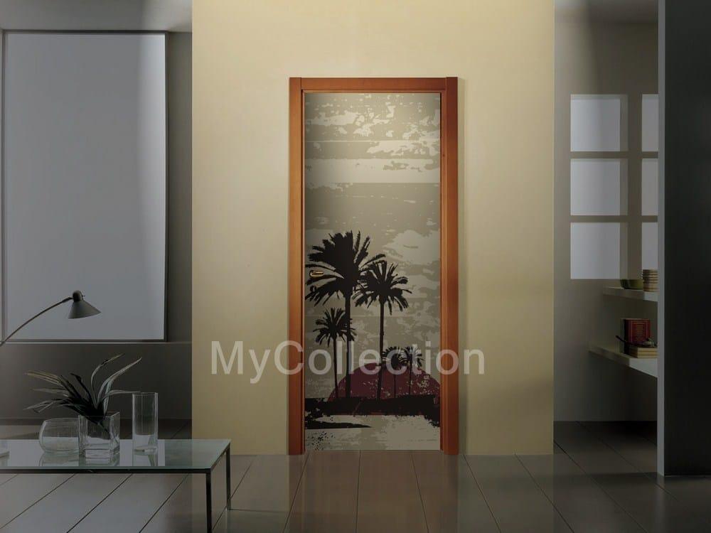 Vinilo decorativo para puertas caribe by for Vinilos decorativos puertas