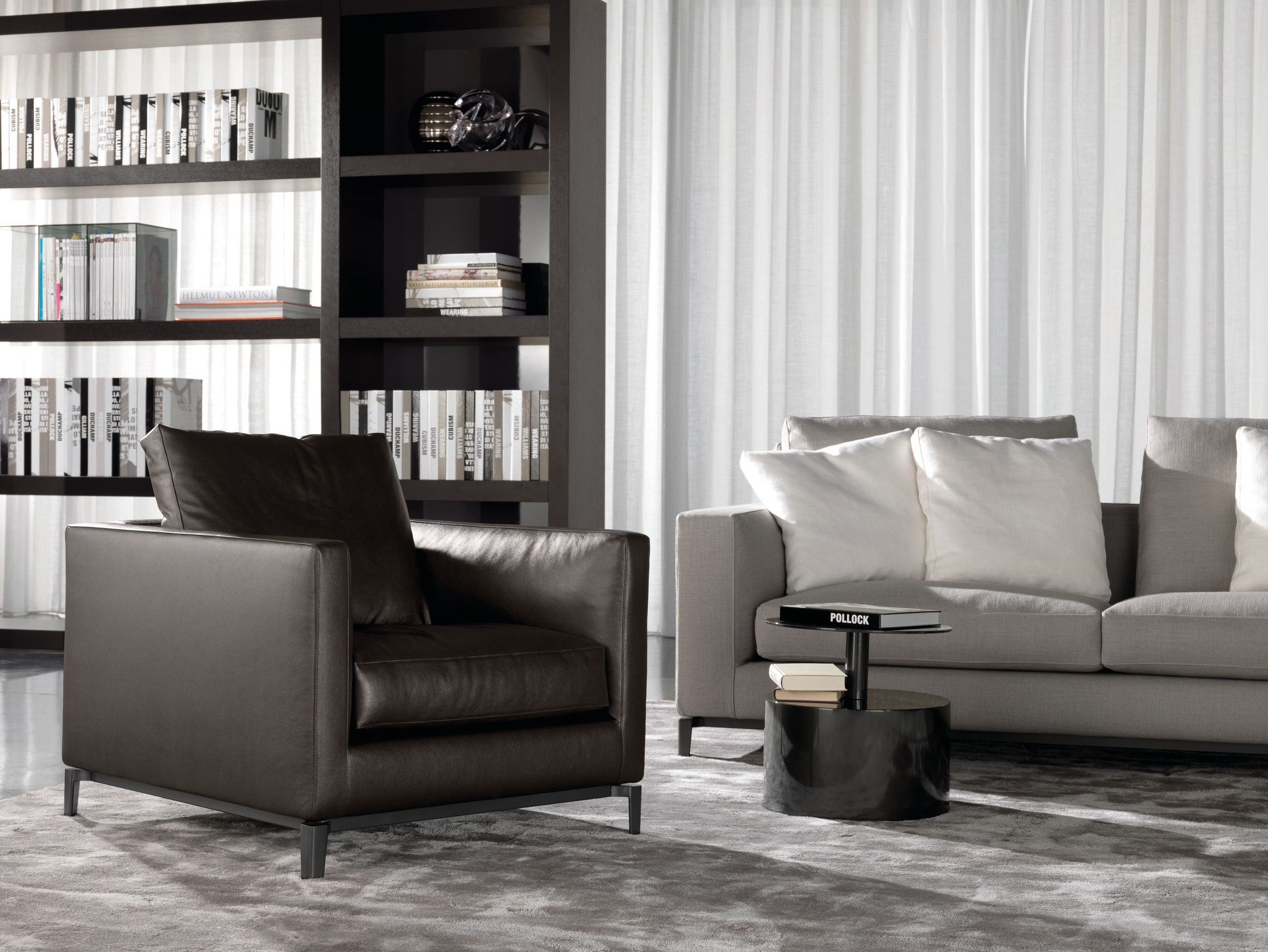 ANDERSEN Armchair by Minotti design Rodolfo Dordoni