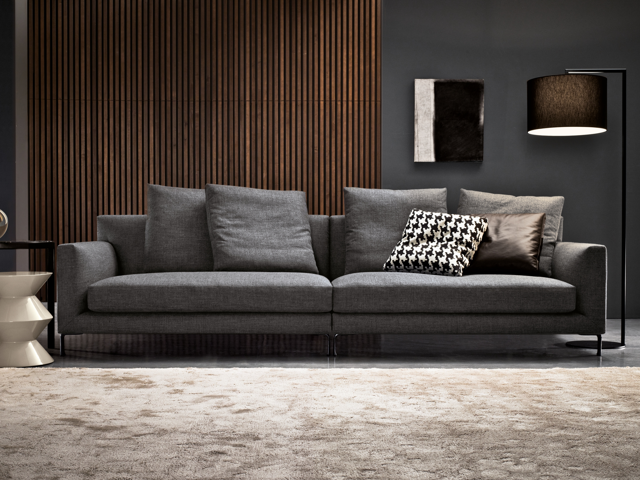 Allen by minotti design rodolfo dordoni for Sofa gebraucht