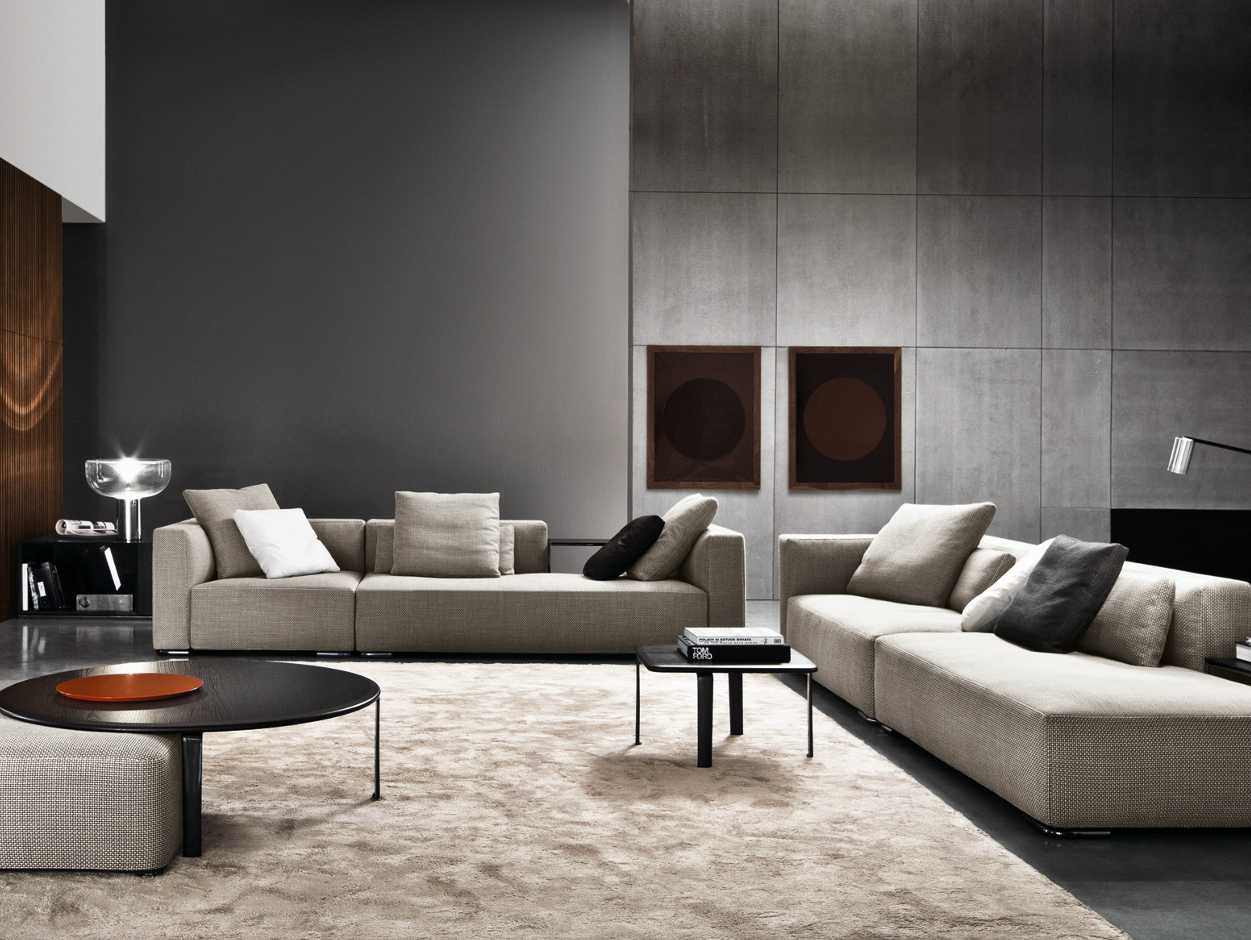 donovan by minotti design rodolfo dordoni. Black Bedroom Furniture Sets. Home Design Ideas
