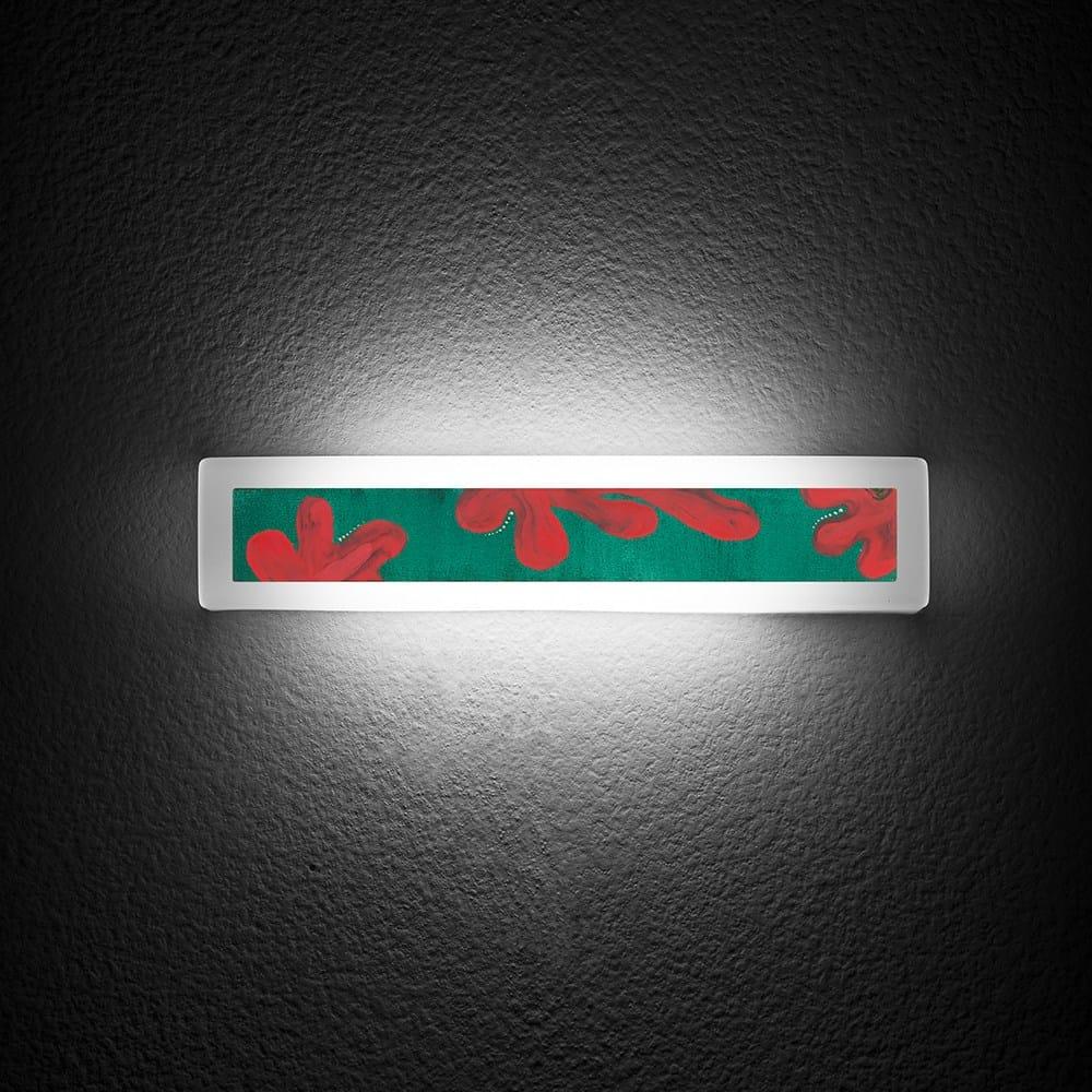 Applique murale pour clairage indirect luce per l 39 arte by for Eclairage applique murale