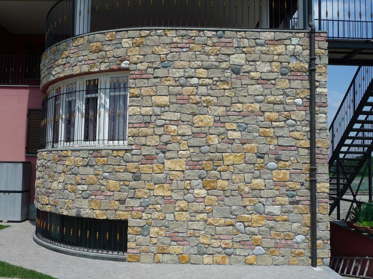 MISTO VOLTERRA Rivestimento in pietra naturale by B&B
