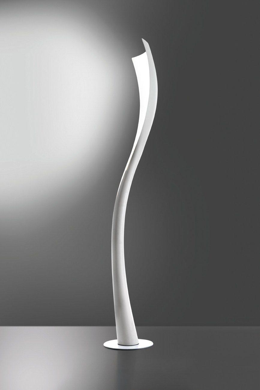 Lampada da terra a led in fibra di vetro solium by artemide design karim rashid - Lampade da terra design outlet ...