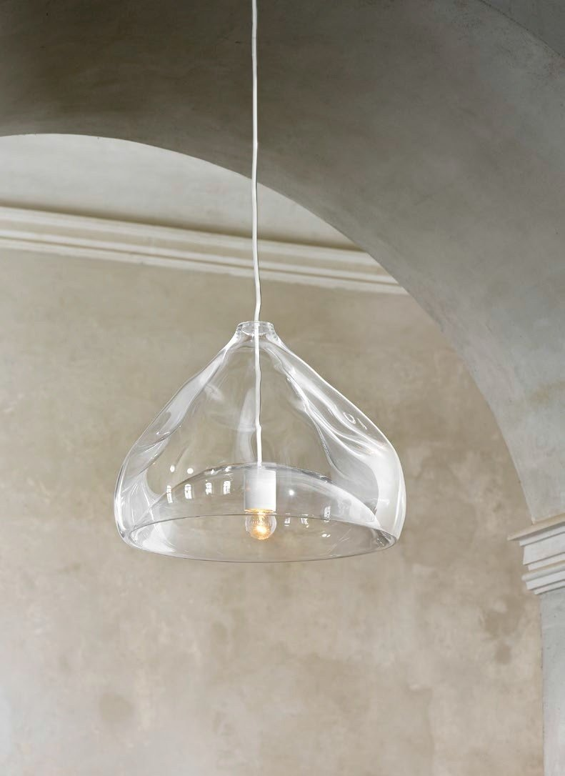 direct light blown glass pendant lamp inhale lamp by lasvit design. Black Bedroom Furniture Sets. Home Design Ideas