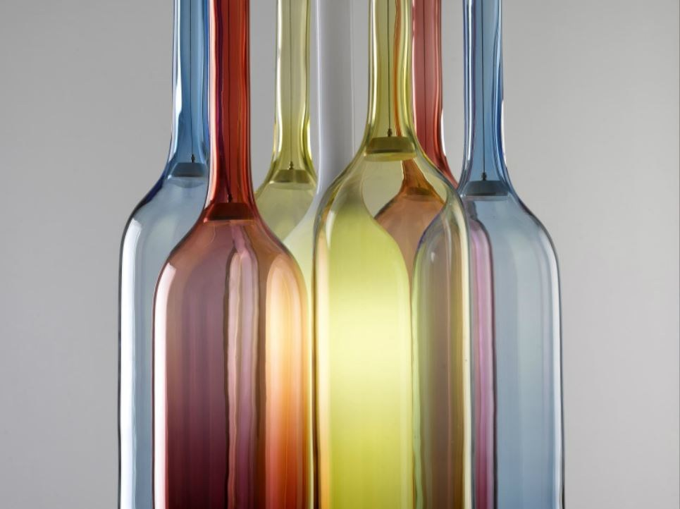 lampadario vetro colorato : Lampadario in vetro colorato JAR RGB by Lasvit design Arik Levy