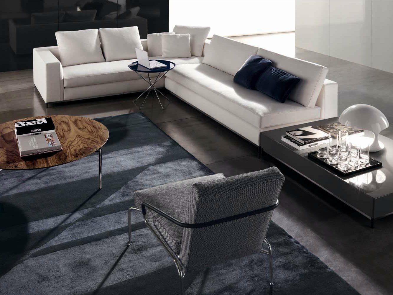 Albers classic canap d 39 angle by minotti - Canape d angle vintage ...