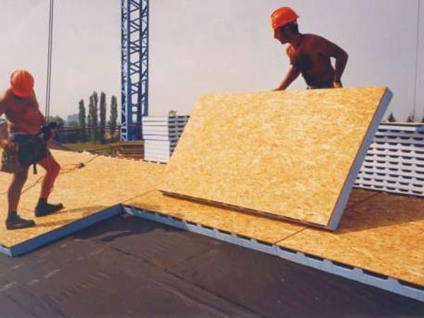 Pannello termoisolante ventilato in eps legno osb tetto for Pannelli in legno lamellare prezzi