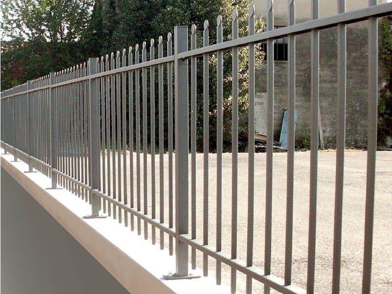 cl ture barreaudage modulable en fer fiammifero by cmc di costa massimiliano. Black Bedroom Furniture Sets. Home Design Ideas