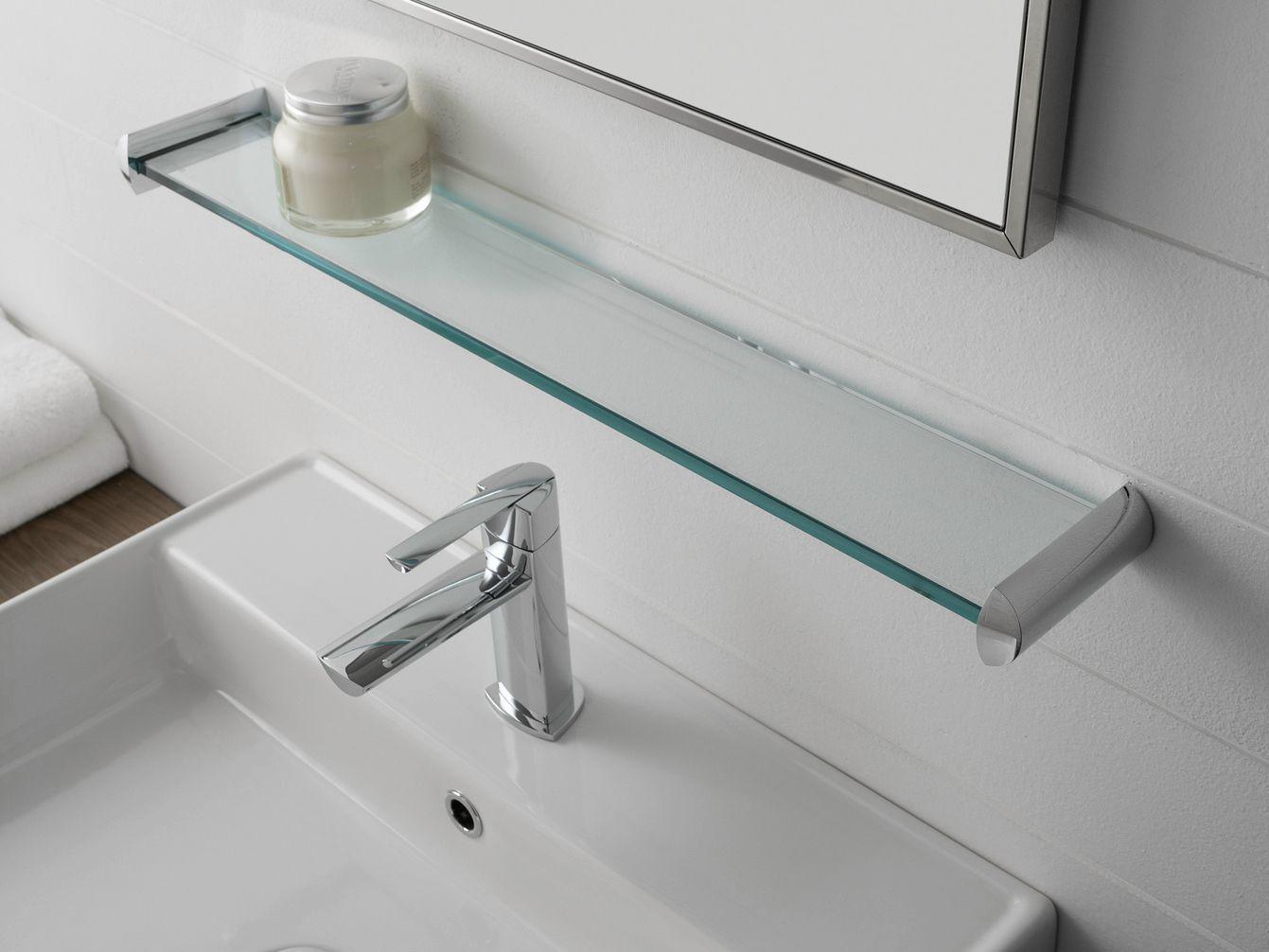 Prateleira para banheiros de vidro TANGO Prateleira para banheiros  #406969 1341x1006 Banheiro Autocad 3d