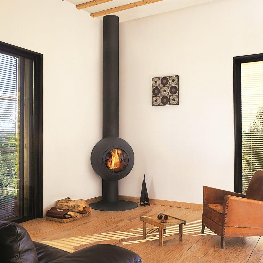 caminetti clam d salone con vetro : Pin Inserto Camino Legna Angolare Calorvision Eco Clam 1 on Pinterest