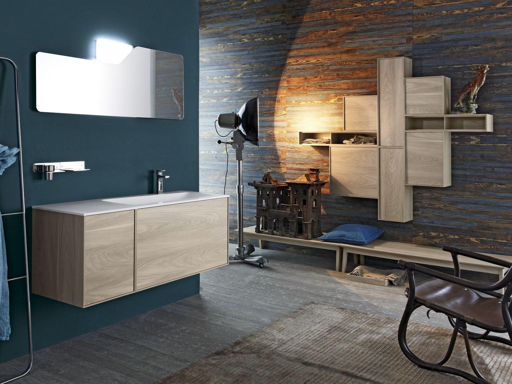 Móvel lavatório único suspenso FREE 68/69 by Cerasa design Stefano  #996232 1663 1247