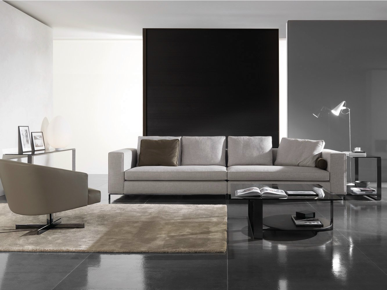 Williams by minotti design rodolfo dordoni for Divano minotti