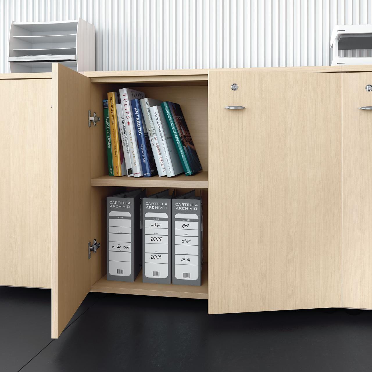 Contenitori universali mobile ufficio con serratura by las for Mobile ufficio con serratura