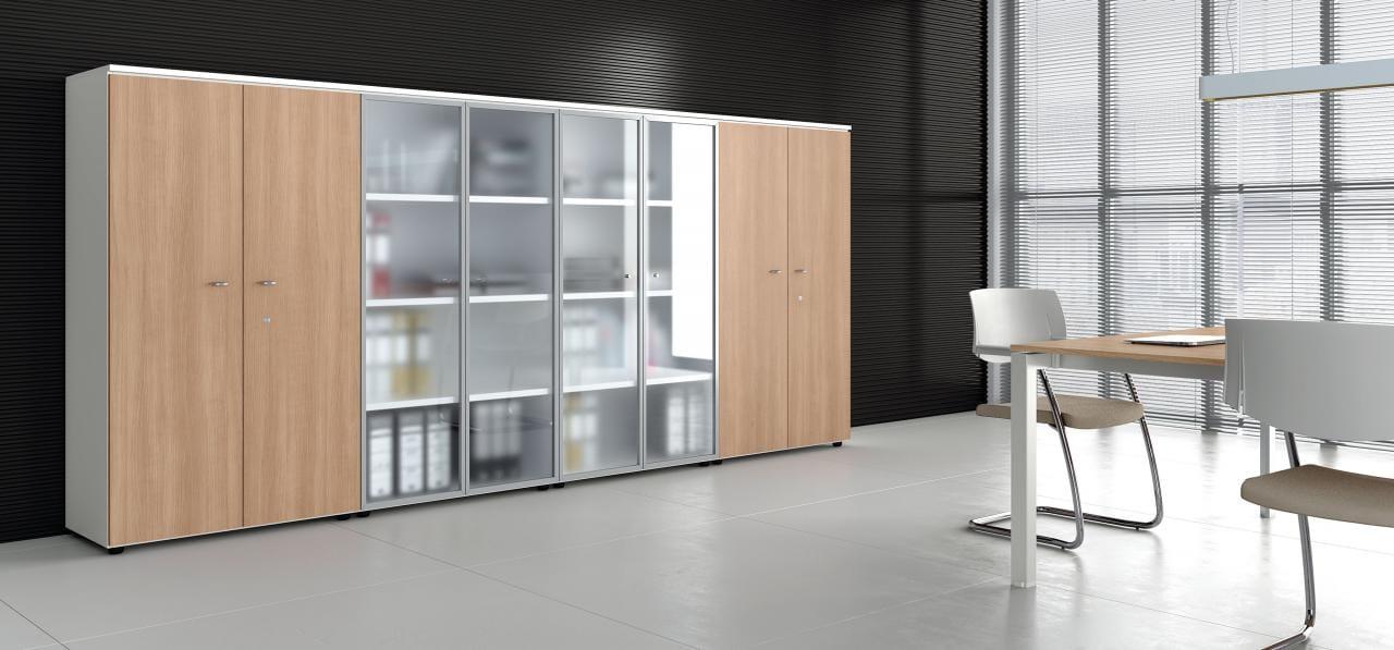 Les meubles universels armoire de bureau by las mobili - Armoire bureau bois ...