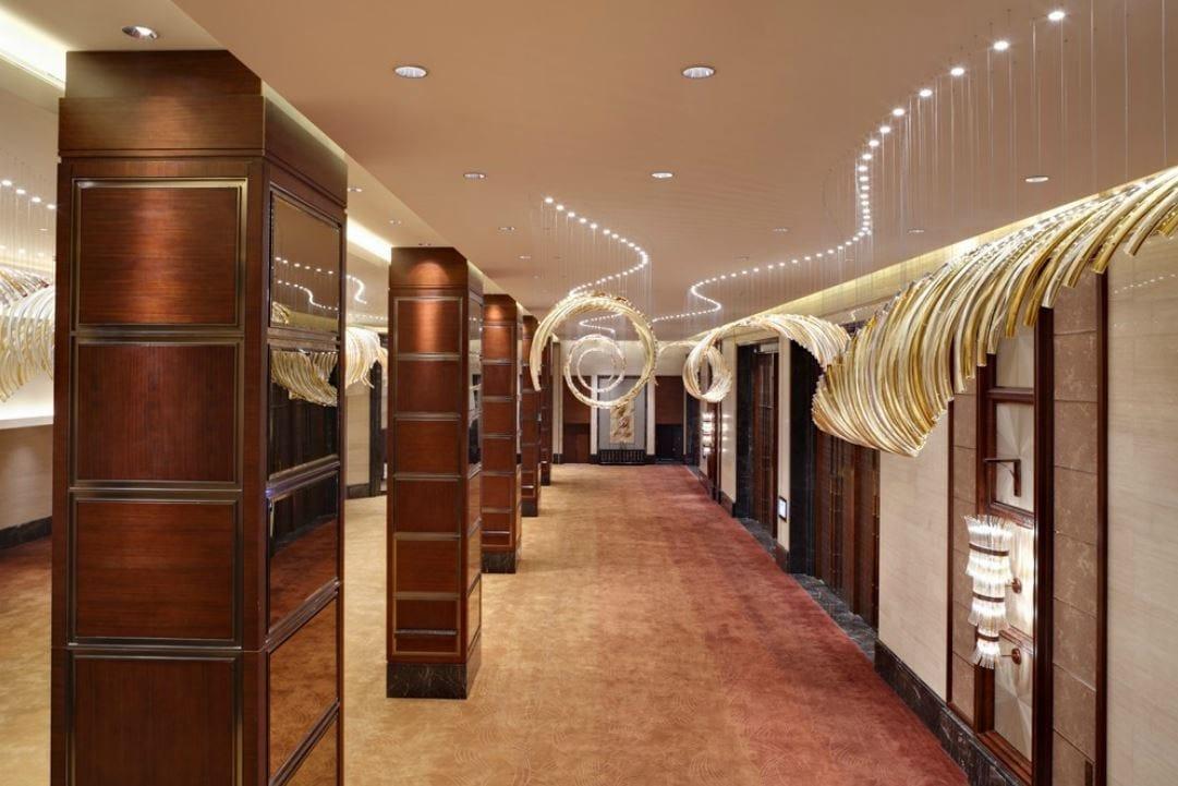 Lustre LED en verre soufflé LEAF COLLECTION by Lasvit design ...