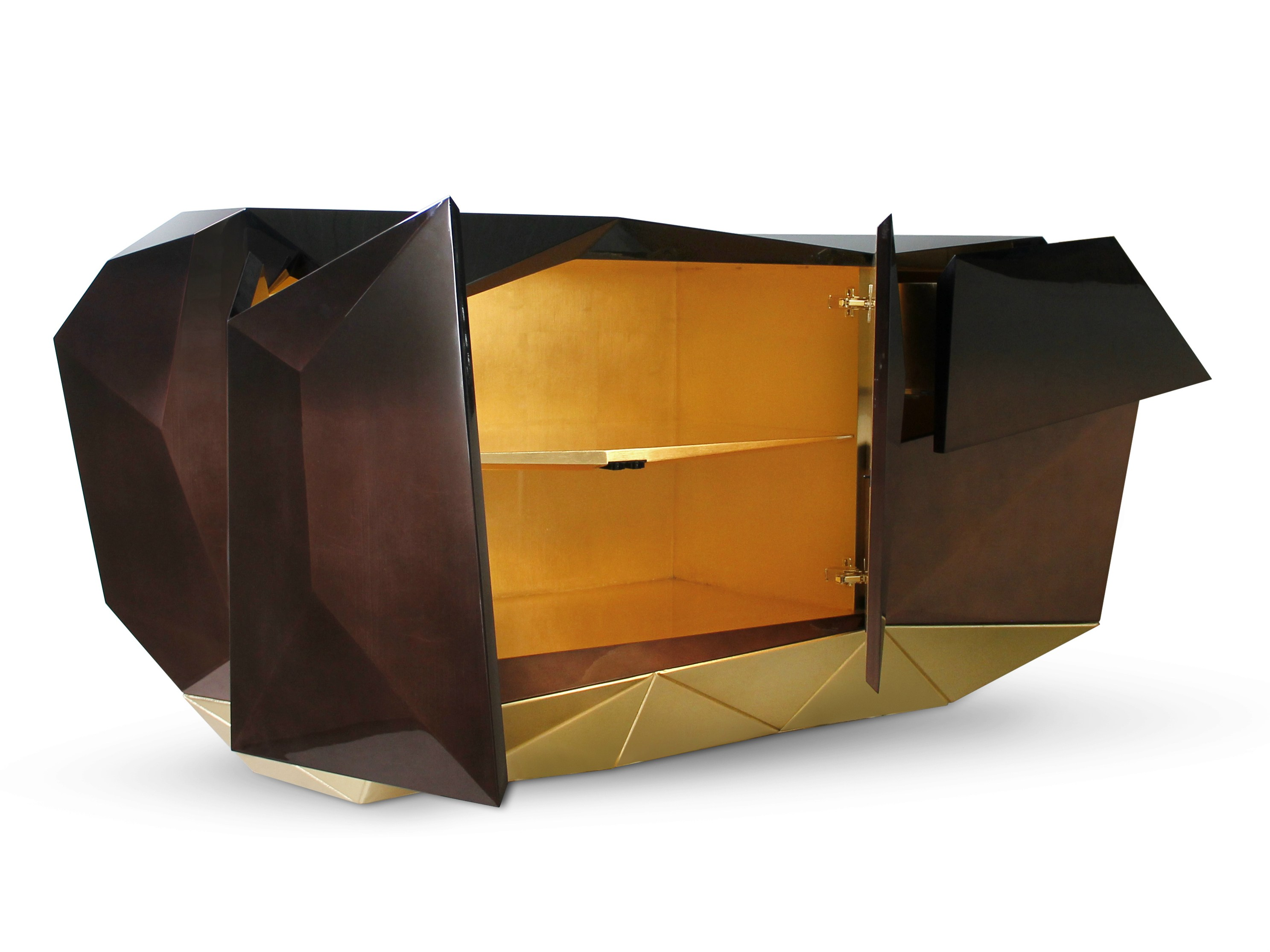 sideboard diamond chocolate sideboard by boca do lobo. Black Bedroom Furniture Sets. Home Design Ideas