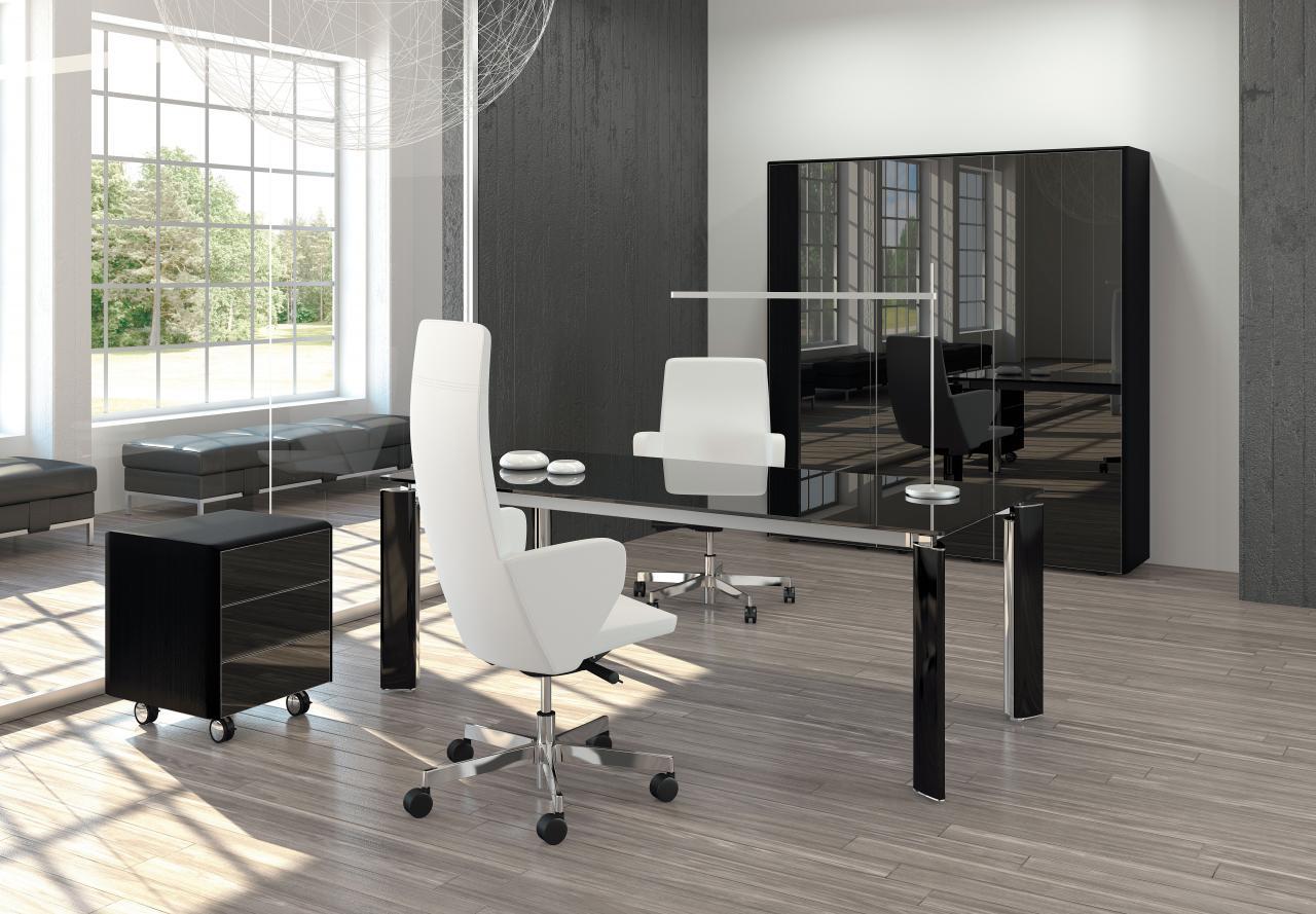 Cassettiera ufficio con ruote collezione fill hg by las mobili for Las mobili ufficio