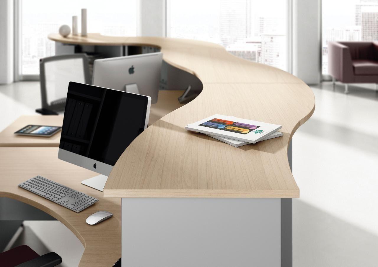 Modular reception desk ask by las mobili for Mobili da reception
