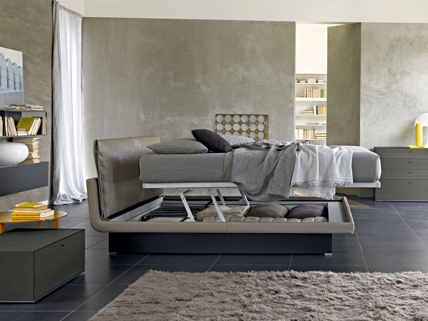 honey lit coffre by molteni c design arik levy. Black Bedroom Furniture Sets. Home Design Ideas
