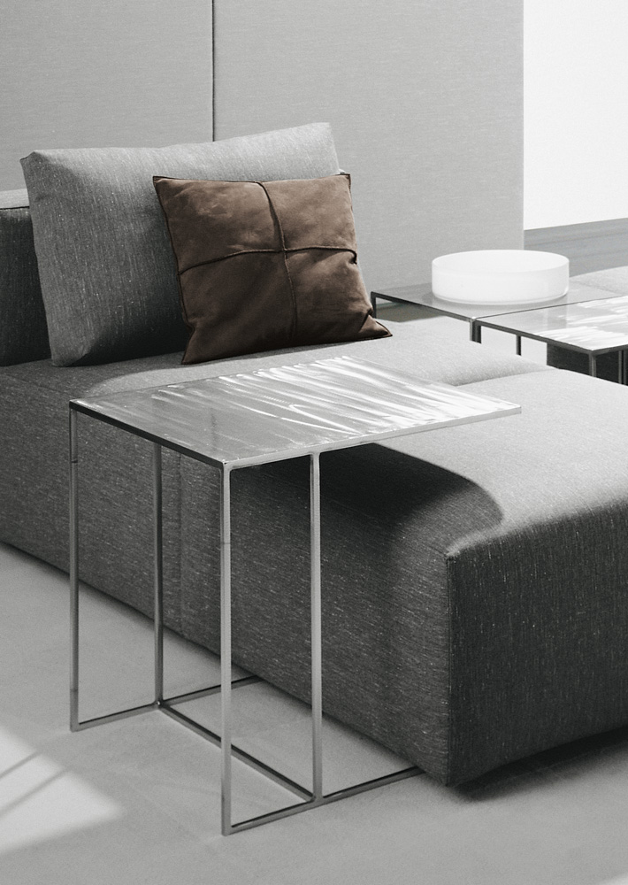 Low Iron Coffee Table Leger By Minotti