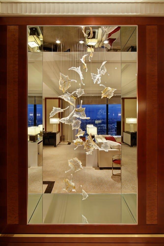 Crystal Decoration The Leaves By Lasvit Design Ludek Hroch